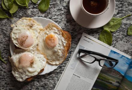 fotografia kulinarna, śniadanie